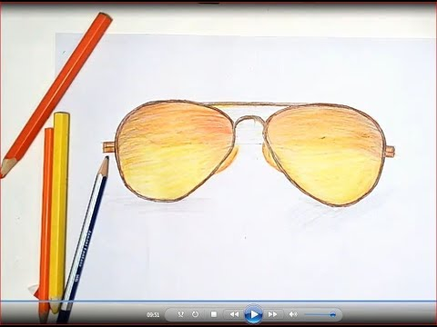a79778b2d4e Aviator Sunglasses Drawing at bitterrootpubliclibrary.org