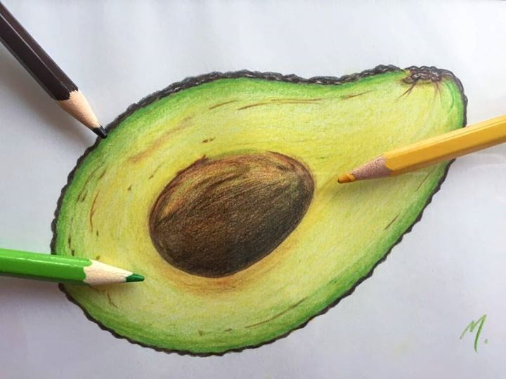720x540 Drawing Avocado @ Paint Events Zurich, [17. November]