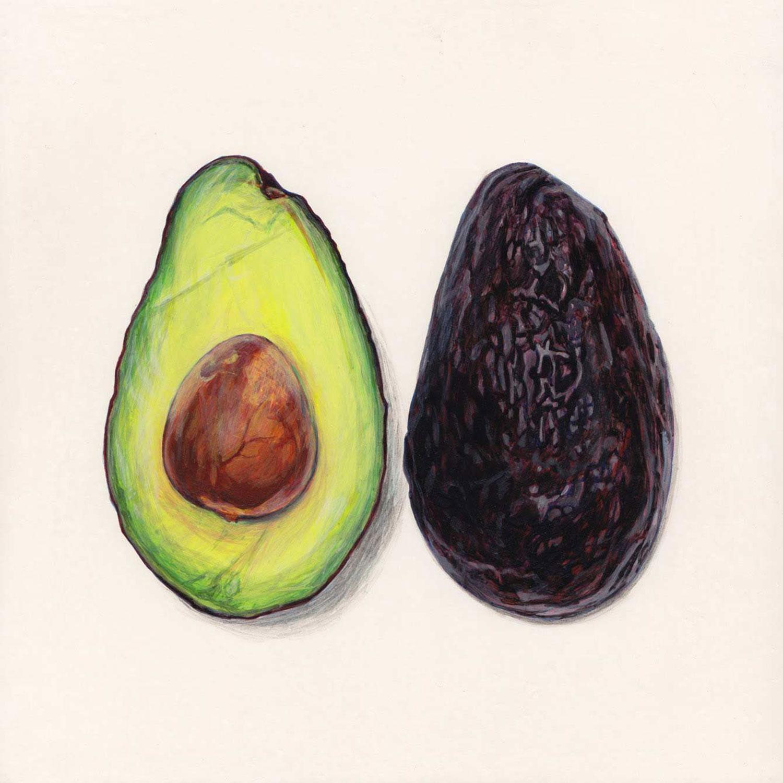 1500x1500 Penkman Avocado Psst. Its A Drawing Art