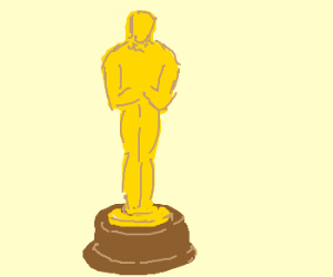 300x250 Academy Award Statue