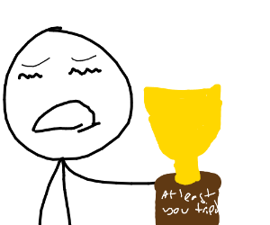 300x250 At Least You Tried' Award (Drawing By Dogems)