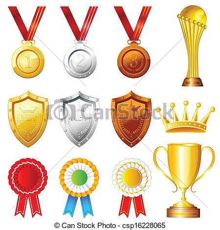 450x470 Easy To Edit Vector Illustration Of Trophy And Awards Clip Art