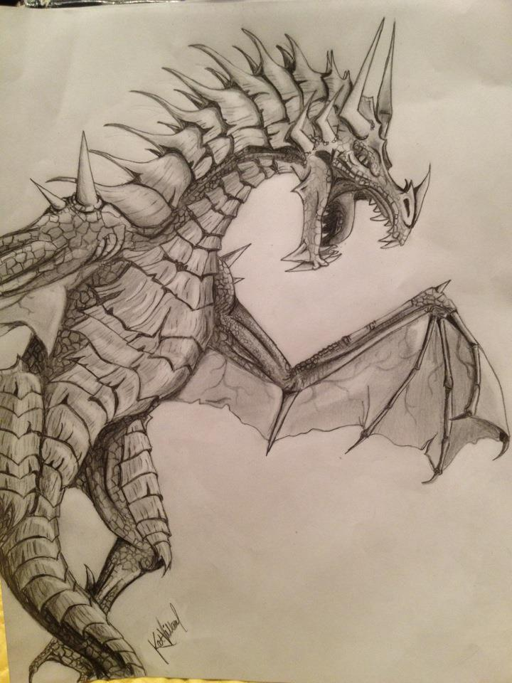 720x960 Awesome Dragon Drawing Cute, Cool, Like It Pinterest Dragons