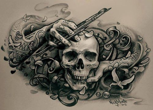 500x361 Awesome Tattoo Design For Artists Ink Amp Inspiration