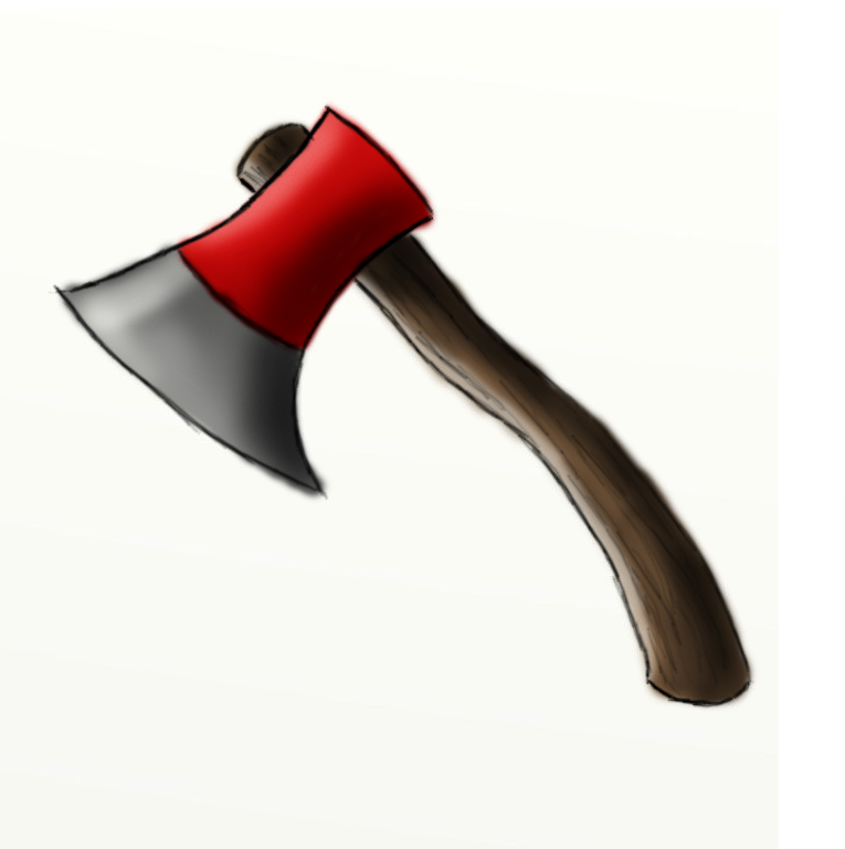 765x768 How To Draw A Sharp Axe Hubpages
