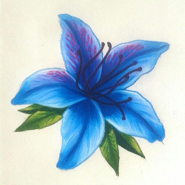 600x600 Azalea Azul 2.0 Por Natalia