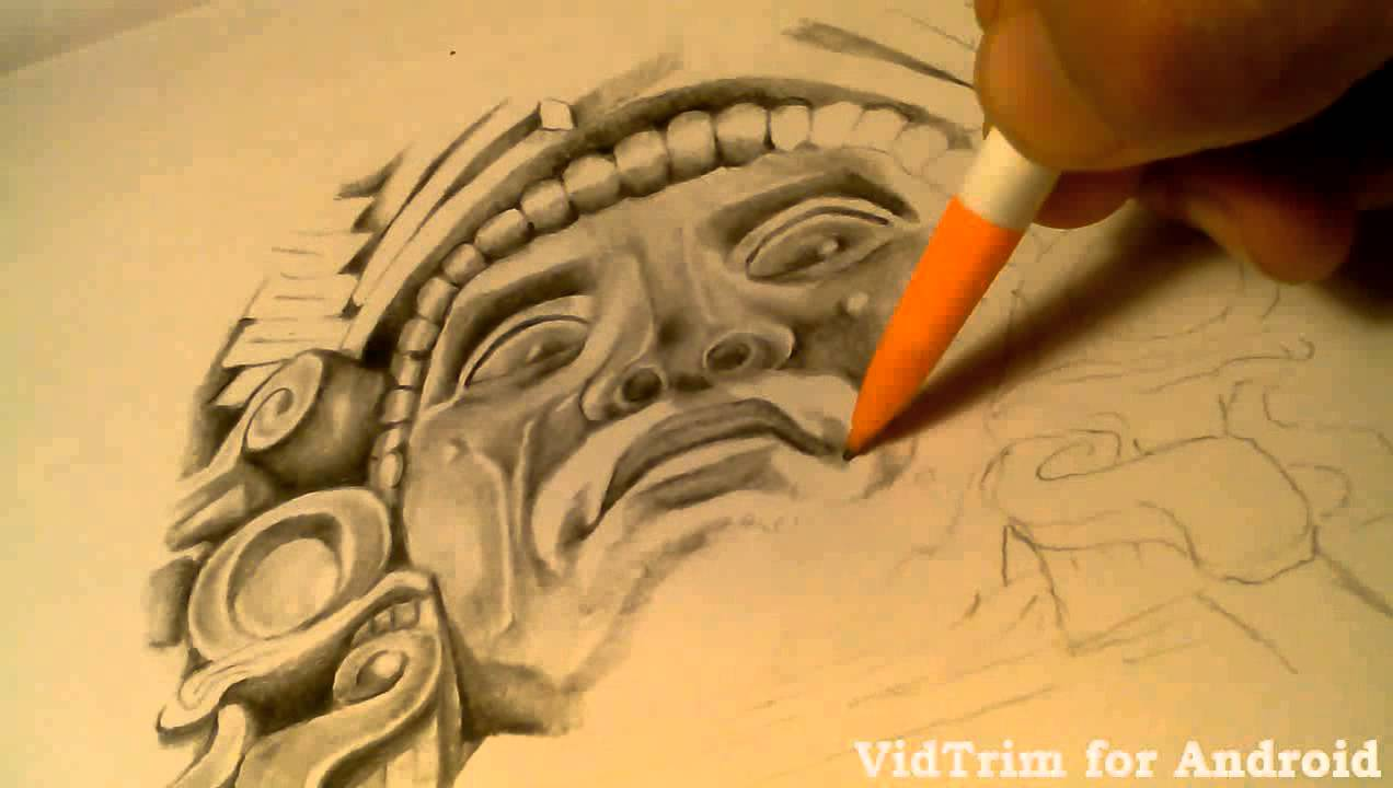 1272x720 Aztec Drawing