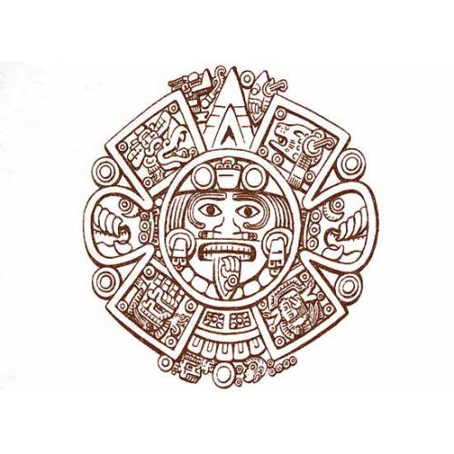 Calendar Design Drawing : Aztec calendar drawing at getdrawings free for