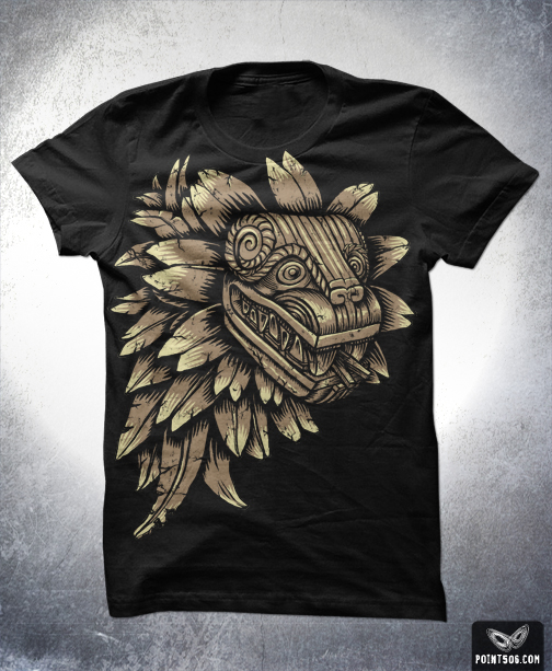 504x613 Aztec Dragon Shirt