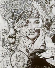 236x290 Aztec Warrior By Xeniita Aztec Aztec Warrior