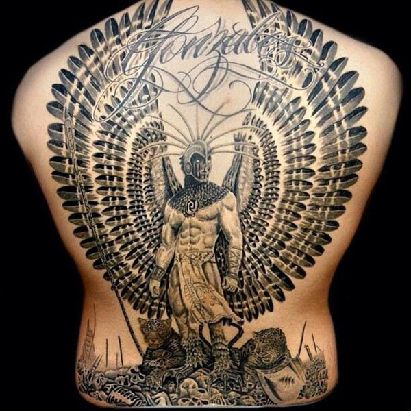 600x600 40 Aztec Tattoo Designs For Men And Women
