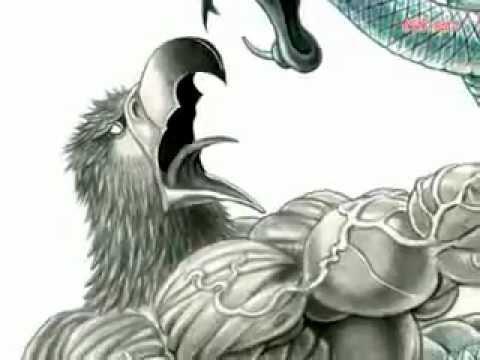 480x360 Aztec Eagle And Snake. The Art Of Artemiogevara!.