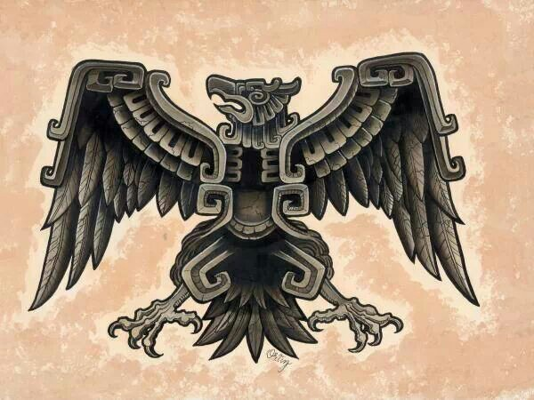Aztec Eagle Drawing At Getdrawings Free For Personal Use Aztec