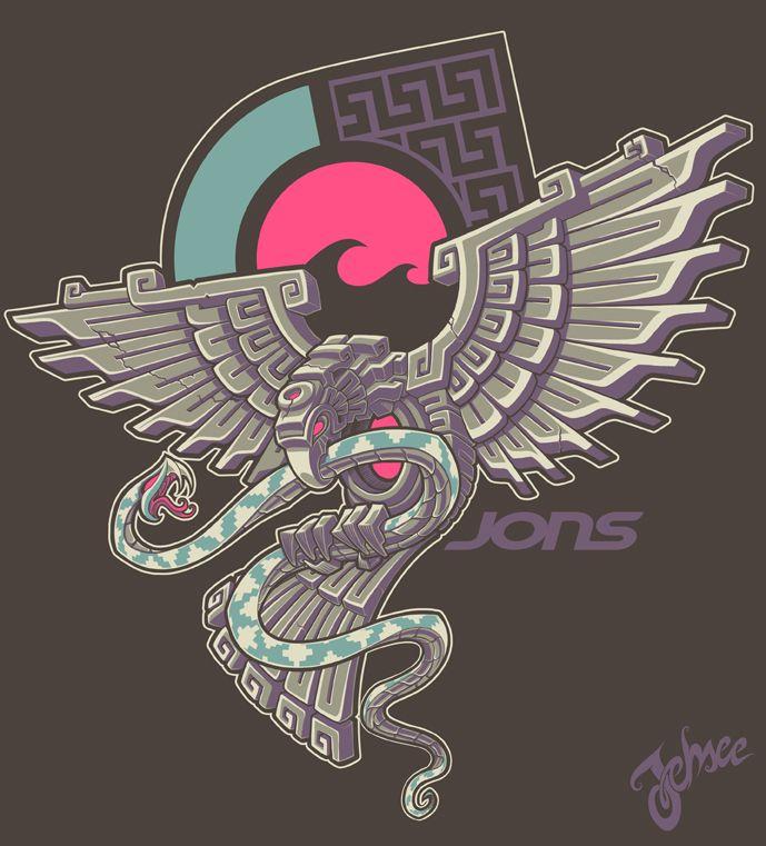 689x761 Aztec Eagle By Nosredna1313 The Art Of War Aztec