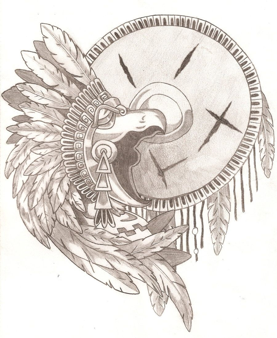 900x1098 13 Photo Of 78 For Aztec Eagle Warrior Drawing Aztec Designs