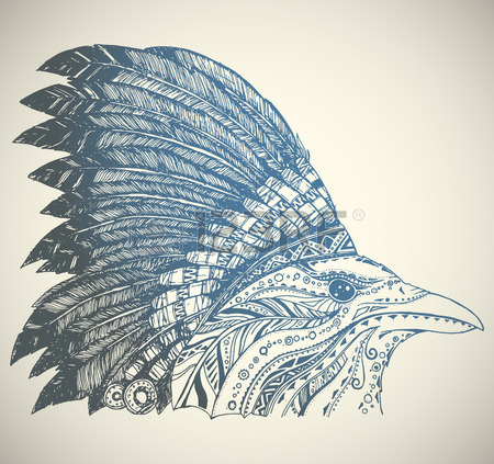 450x423 Aztec Headdress Animal Stock Photos. Royalty Free Business Images