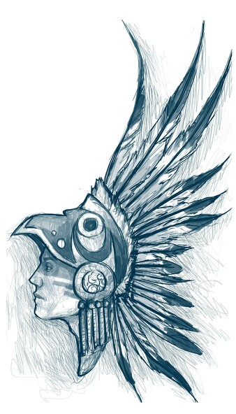 338x592 Aztec Headdress Ideas Headdress, Tattoo And Tattoo
