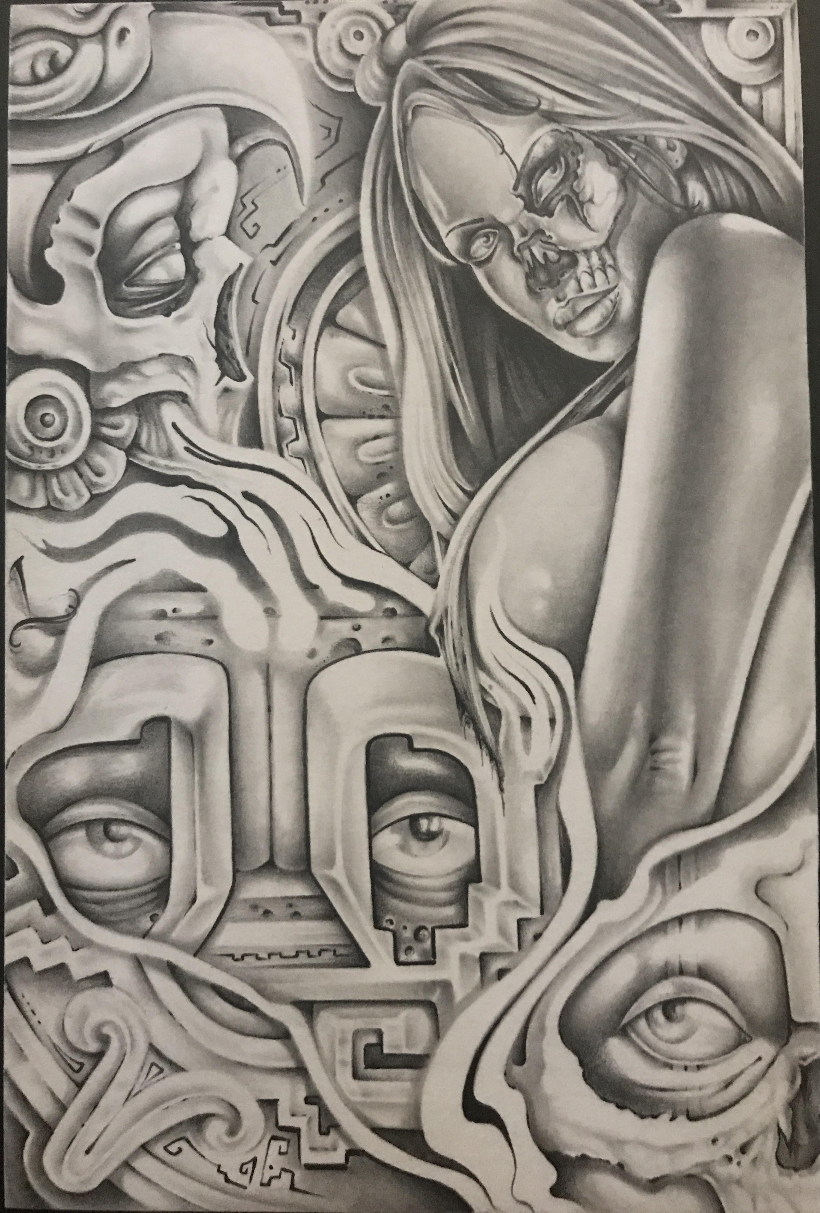 2727x4032 Aztec Queen