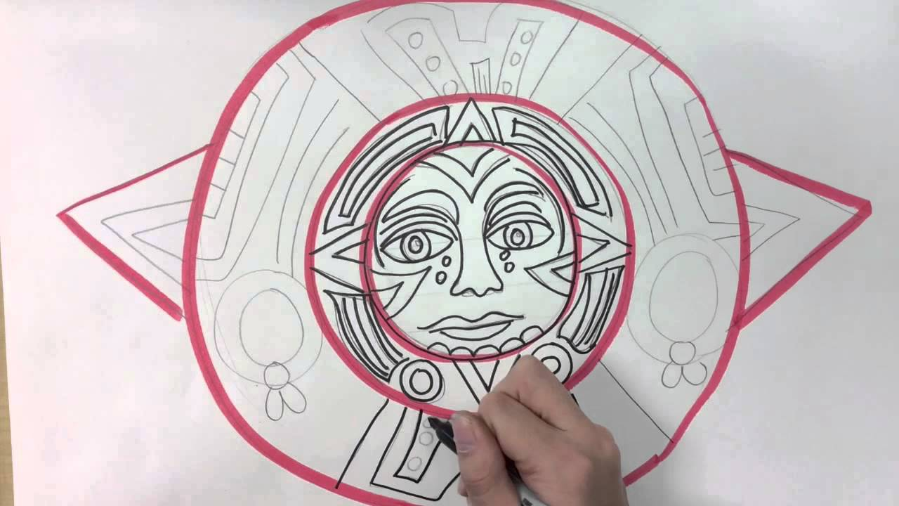 1280x720 Aztec Sun Stone