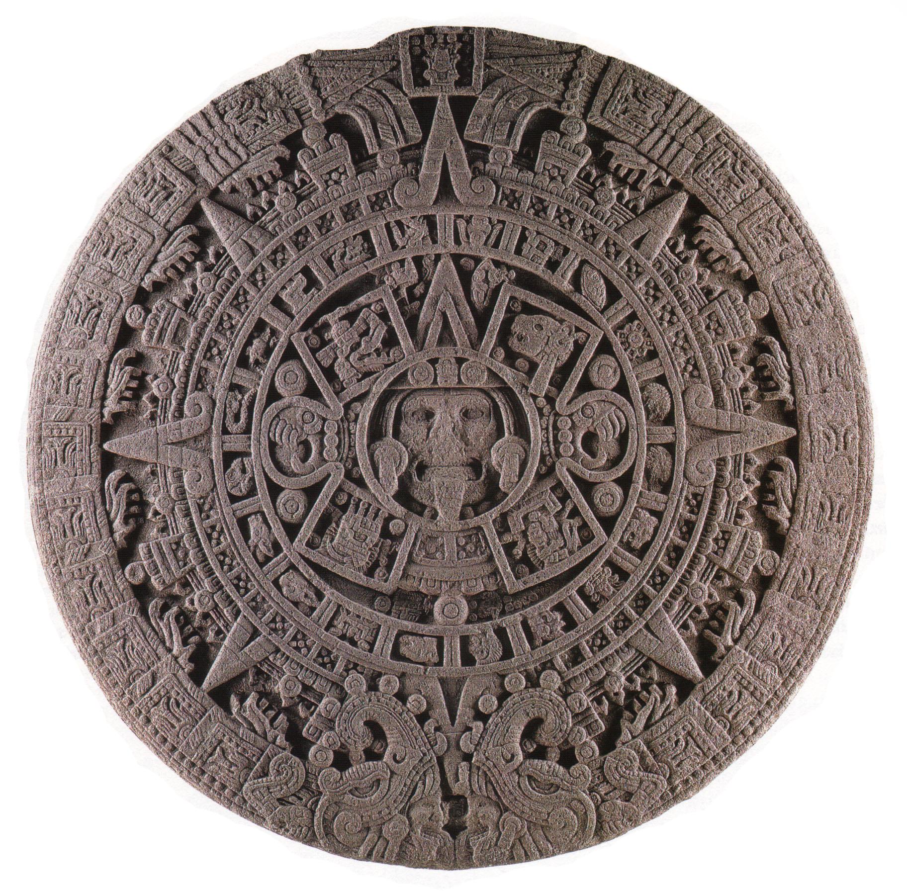 1824x1794 The Face Of The Calendar Stone A New Interpretation Maya