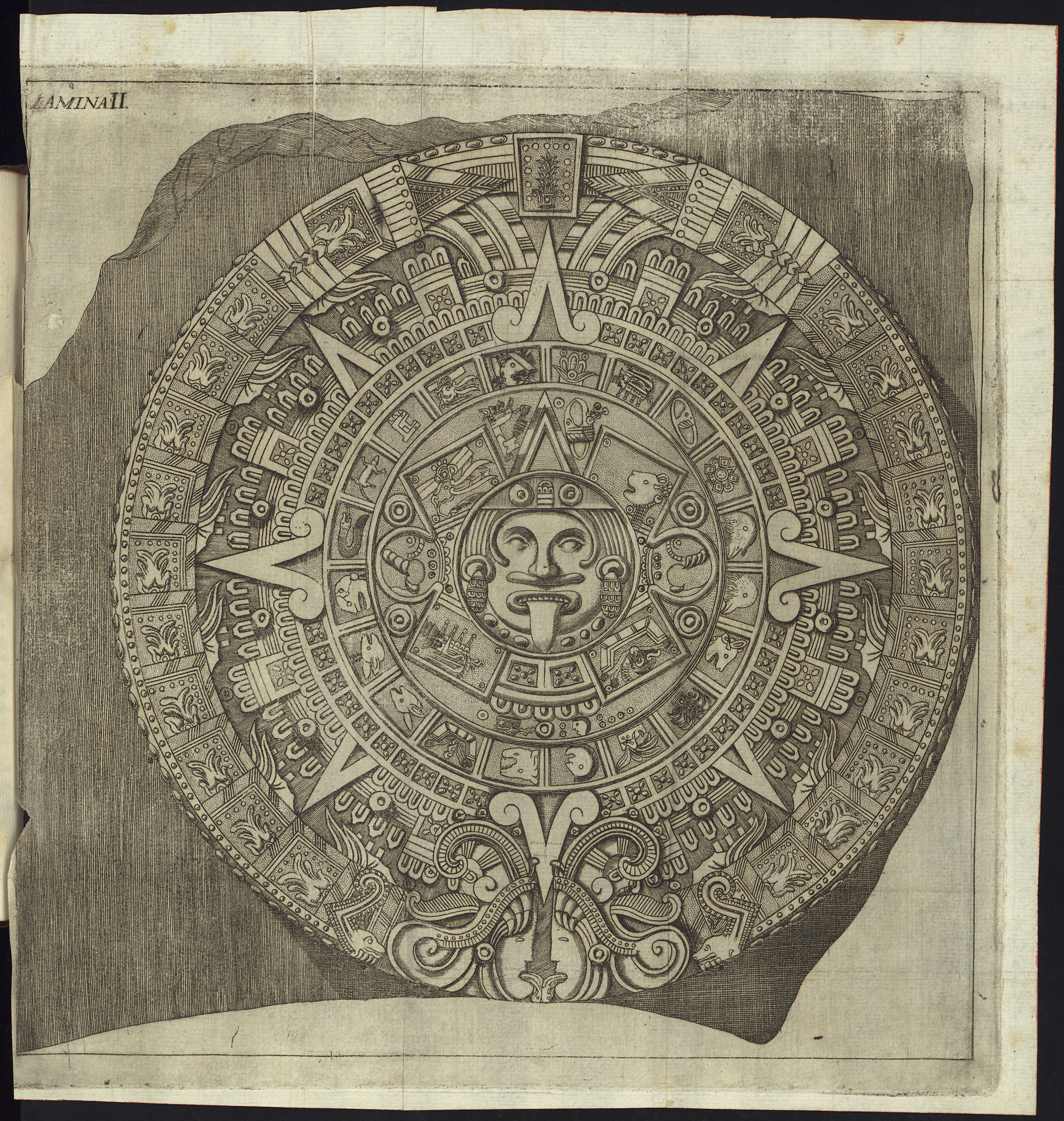 3205x3377 The History Blog Blog Archive 224th Anniversary Of Aztec Sun
