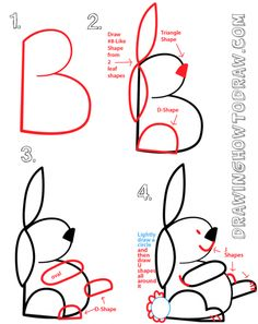 236x297 How To Teach Kids To Draw Using The Alphabet Butterfly, Drawings