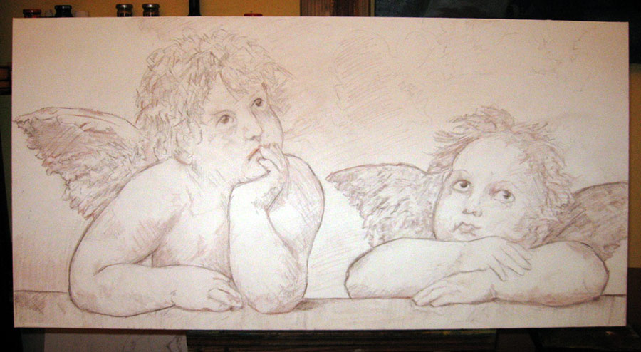 900x494 Finished Raphael's Angels Fine Arts Gallery