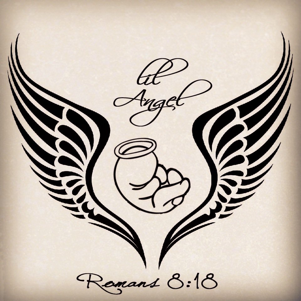 960x960 My Tattoo Design For My Angel Baby Miscarriage Tattoo Little