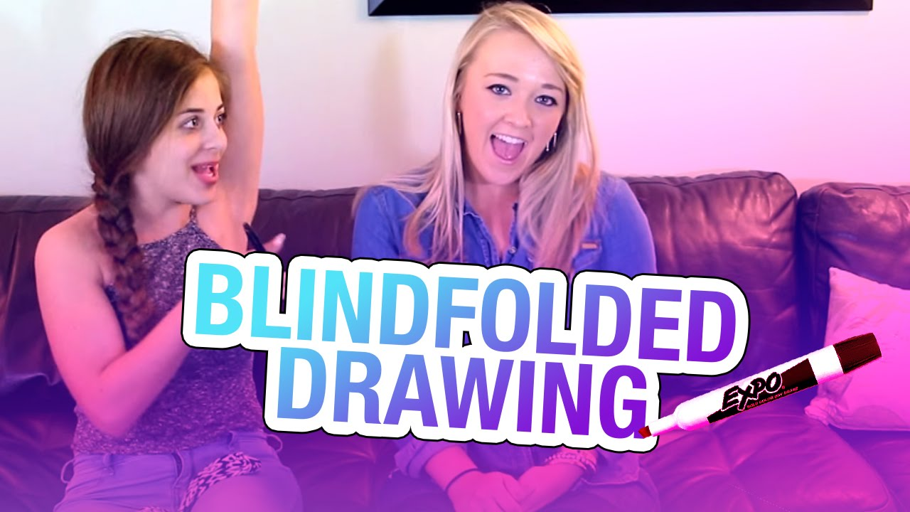 1280x720 Blindfolded Drawing Game (W Meghan Mccarthy) Baby Ariel