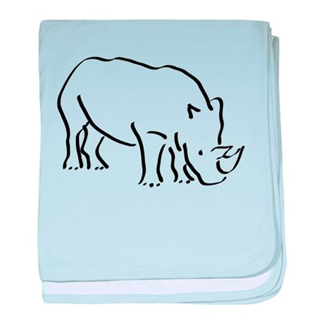 460x460 Rhinoceros Baby Blankets Personalized Baby Blanket Designs