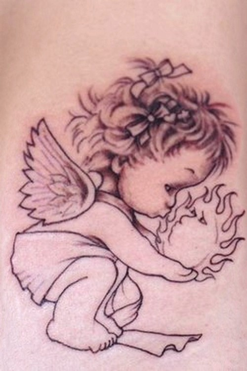 500x750 Tattoo Jobs Hiring, Baby Boy Angel Tattoo Designs, Gallery Direct