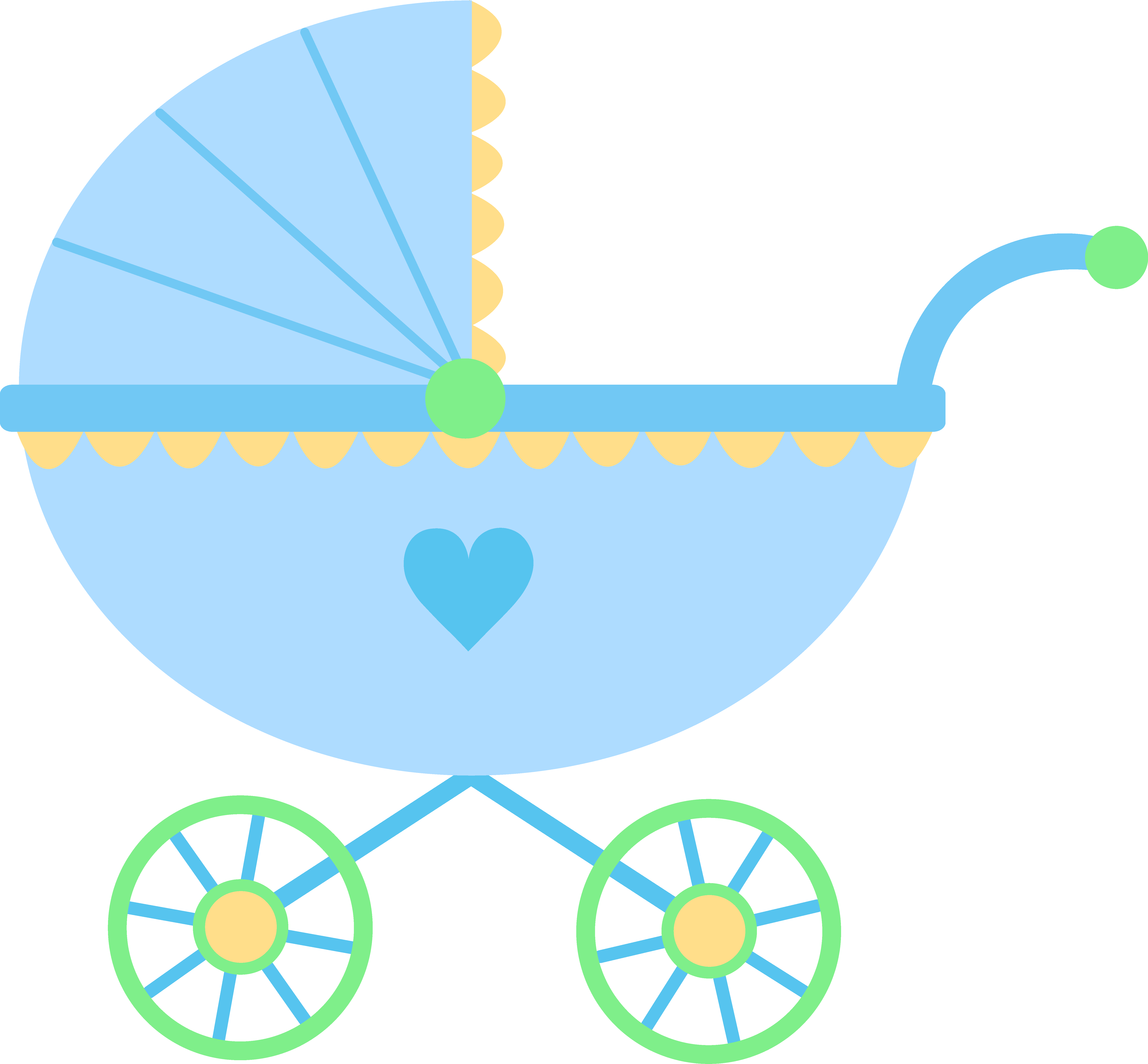 Baby Carriage Drawing at GetDrawings.com | Free for personal use ...