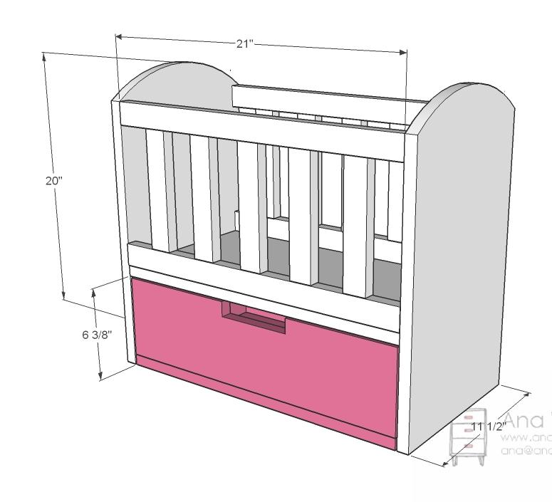 Baby Cradle Drawing at GetDrawings.com | Free for personal use Baby ...