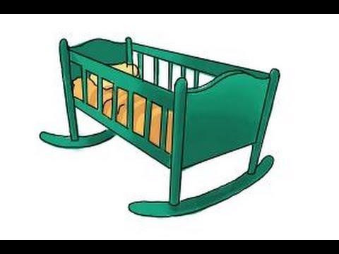 480x360 How Draw A Crib