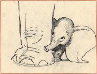 320x244 Dumbo Concept Art By Bill Peet Art Concept Art