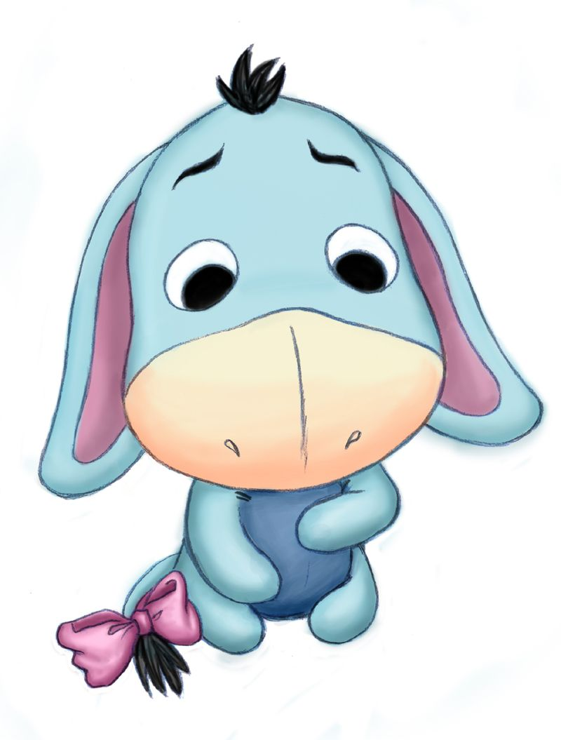800x1055 Baby Eeyore .where It All Started Remembering Yesterday
