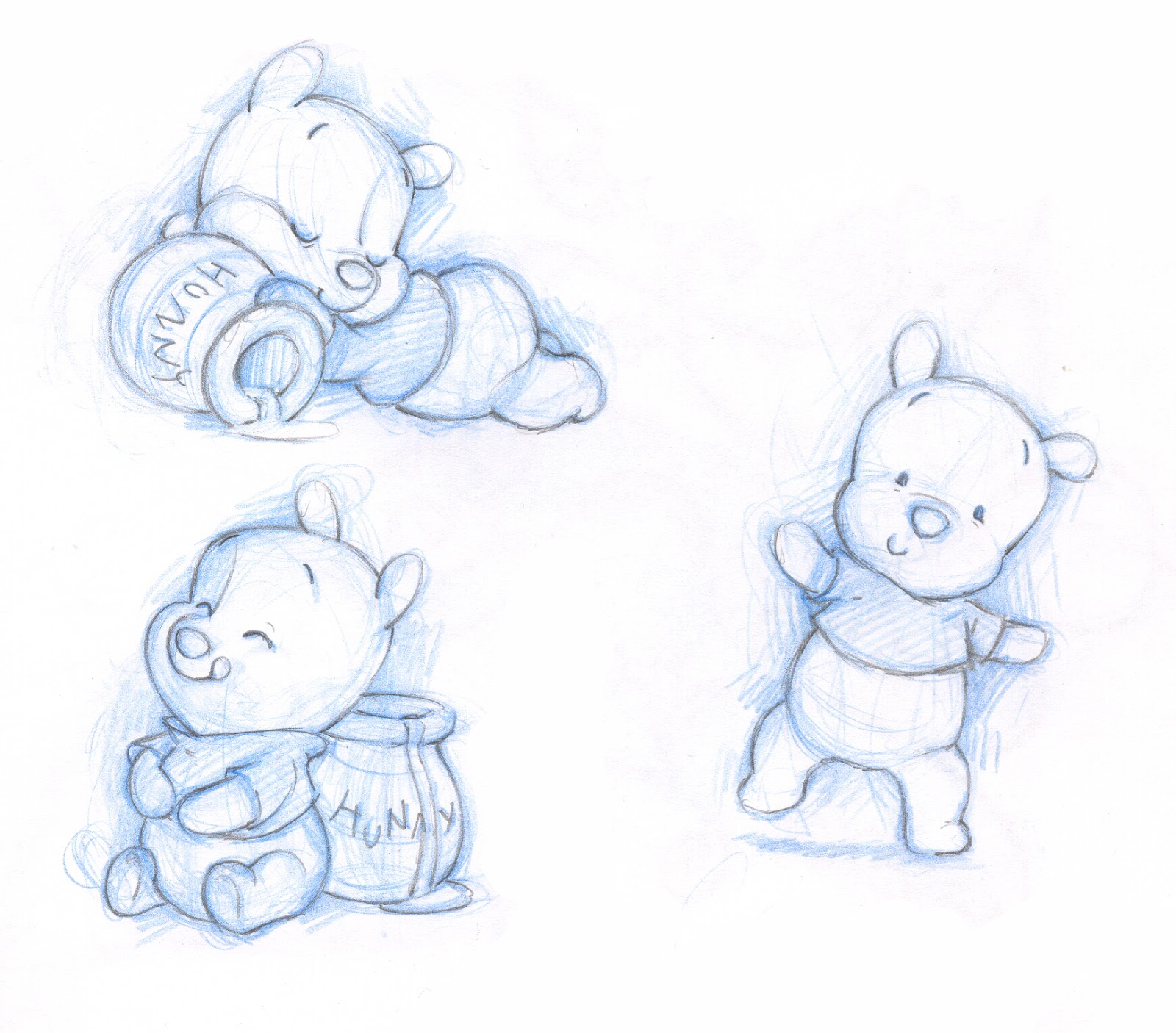 1600x1406 Winnie The Pooh Cute Sketch Just Because You Have A Fast Pass