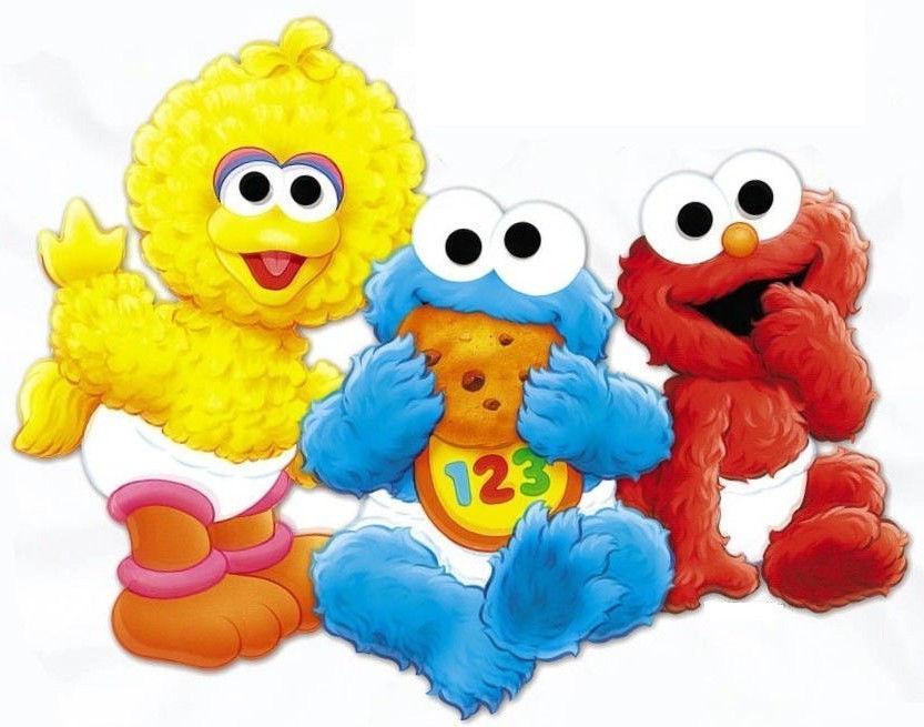833x655 2a22154c8cbae1635323567649396a58 Babies Elmo Big Bird Wall Baby