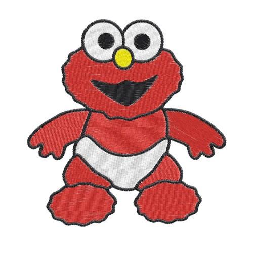 500x500 Baby Elmo Clip Art