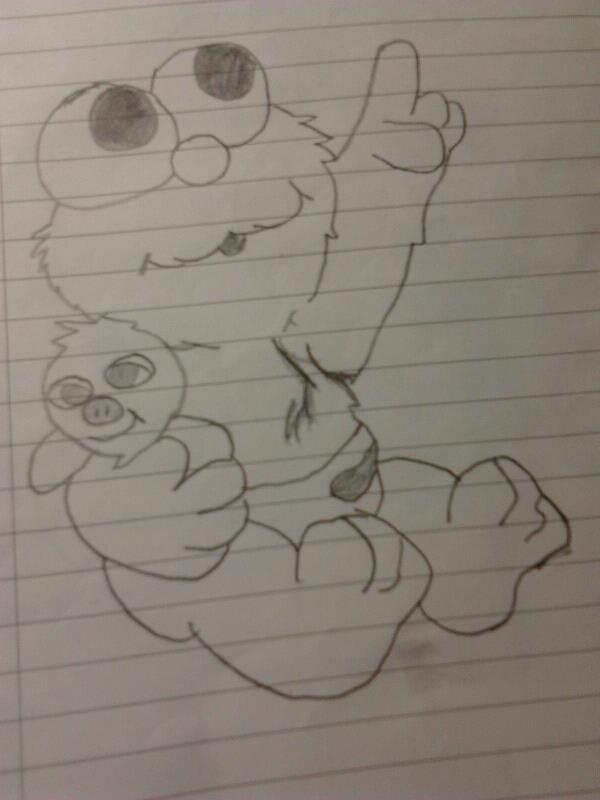 600x800 Baby Elmo By Chocoloverizzuan