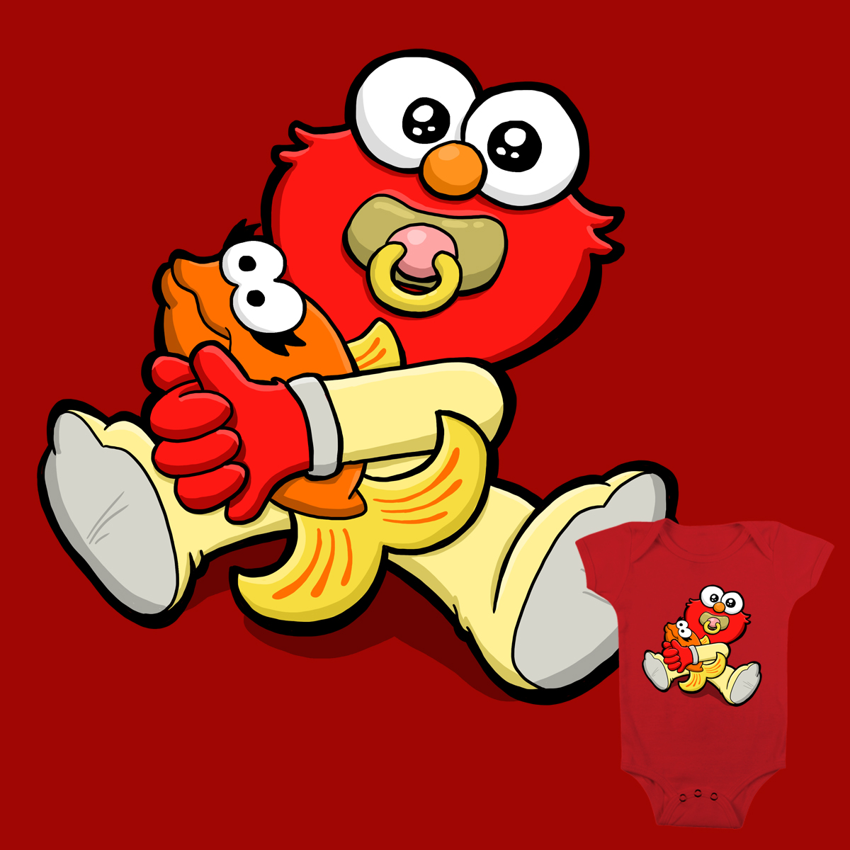 1200x1200 Score Baby Elmo Amp Dorothy By Binarygod On Threadless