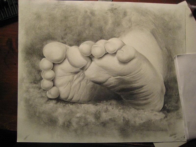 800x600 Baby Feet By Nayaura017