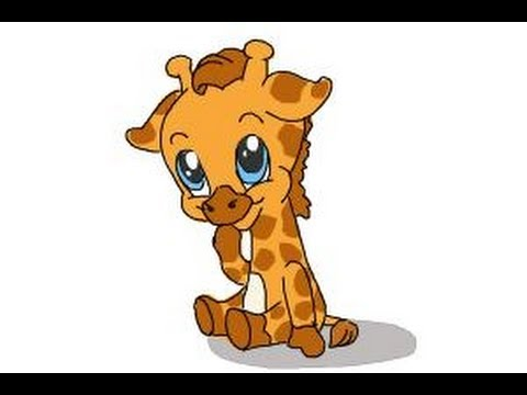 480x360 How To Draw A Baby Giraffe