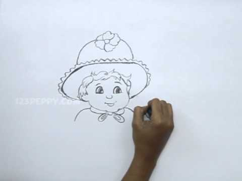 480x360 How To Draw Baby Girl