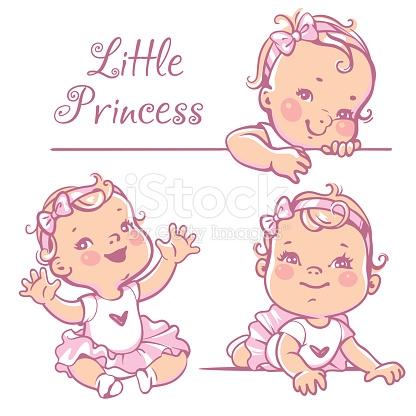 416x416 Baby Girl Drawing
