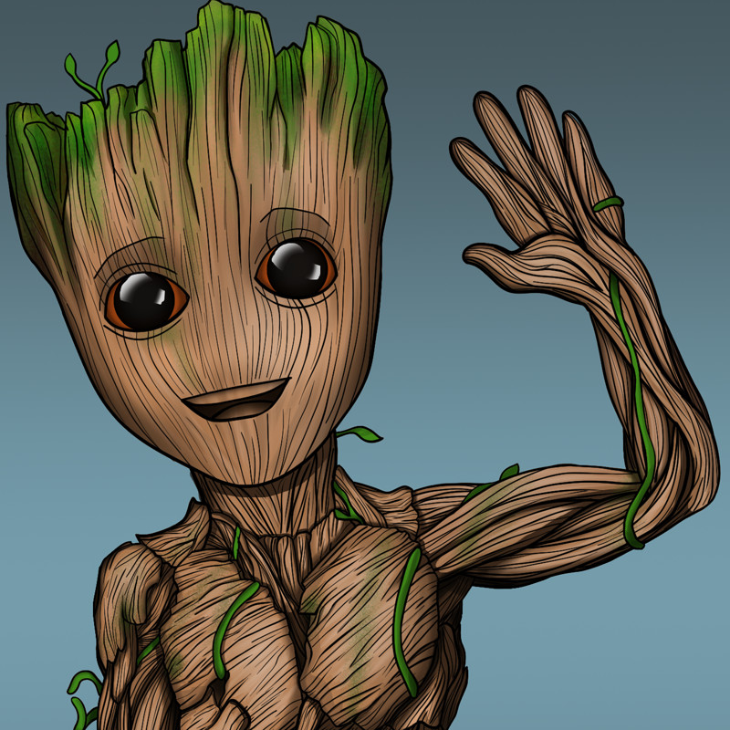 800x800 Image Result For Baby Groot Drawing Bible Journaling Ideas