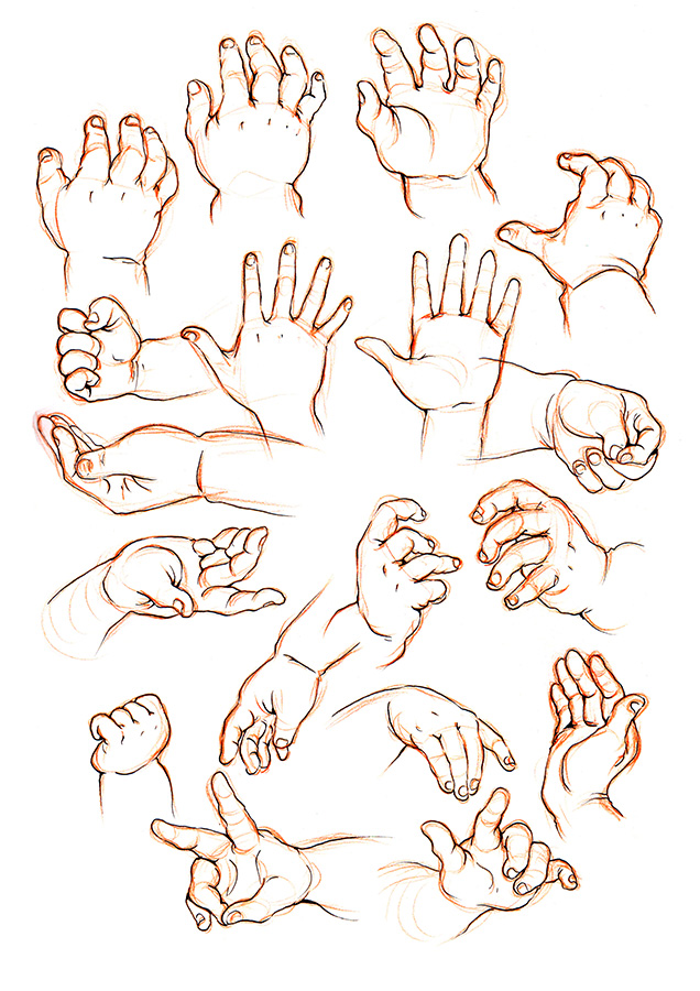 636x900 Hand Practice! My Lecturer Said My Hands Look All The Same So I