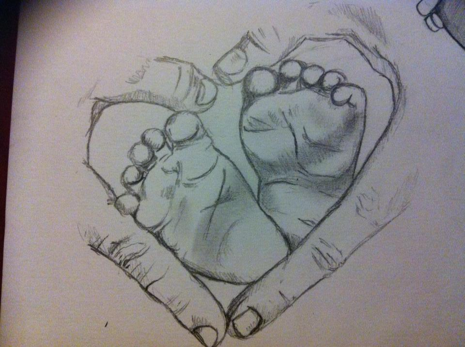 Line Drawing Holding Hands : Baby hands drawing at getdrawings free for personal use