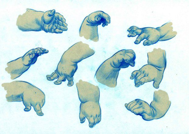 620x440 Baby Hand Drawings By Rune Brandt Bennicke How To Art