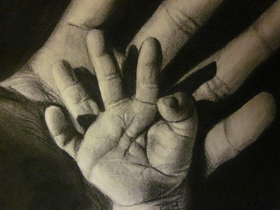 900x675 Baby Hands Drawing
